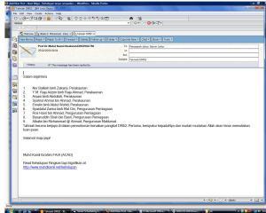 e-mail penghargan & tahniah daripada Prof. Dr. Hj. Muhd Kamil