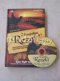 buku dan cd 7 keajaiban rezeki
